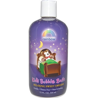 Rainbow Research, スイートドリームス、 お子様用バブルバス、 12液量オンス (360 ml)