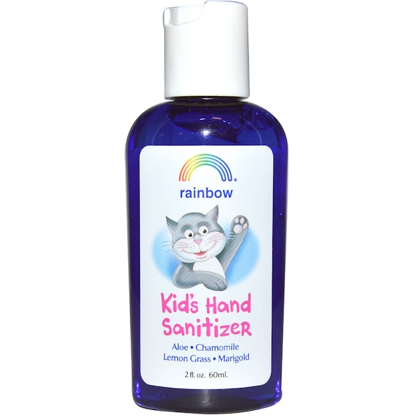 Rainbow Research, Kids Hand Sanitizer, 2 fl oz (60 ml) (Discontinued Item)