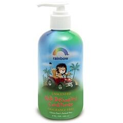 Rainbow Research, 兒童順髮護髮素,無香,8液量盎司(240毫升)