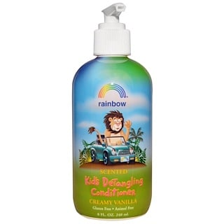 Rainbow Research, Kids Detangling Conditioner, Scented, Creamy Vanilla, 8 fl oz (240 ml)