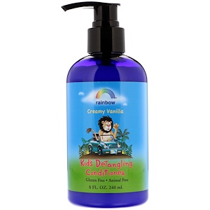 Рэйнбоу Ресерч, Kids Detangling Conditioner, Creamy Vanilla, 8 fl oz (240 ml) отзывы покупателей