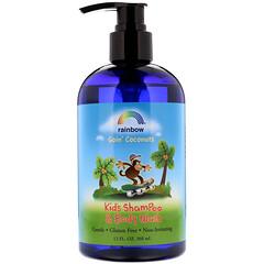 Rainbow Research, 兒童洗髮水和沐浴露,椰子味,12 液體盎司(360 毫升)