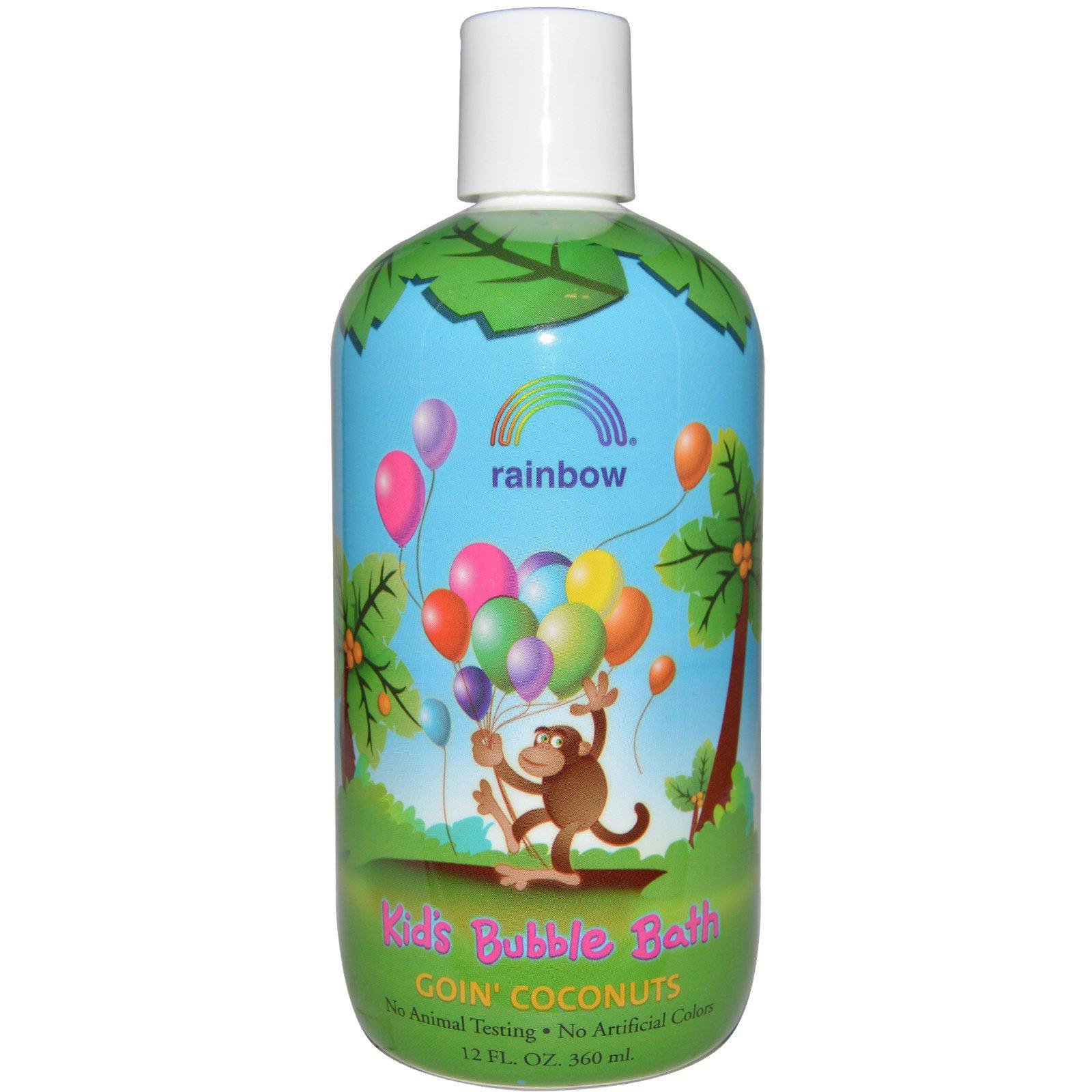 Rainbow Research, Детская пена для ванны, кокос, 12 жидких унций (360 мл)