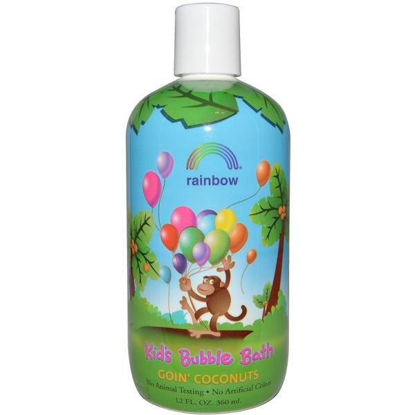 Rainbow Research, Детская пена для ванны, кокос, 12 жидких унций (360 мл) (Discontinued Item)