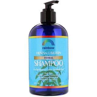 Rainbow Research, Henna & Biotin Herbal Shampoo, 12 fl oz (360 ml)