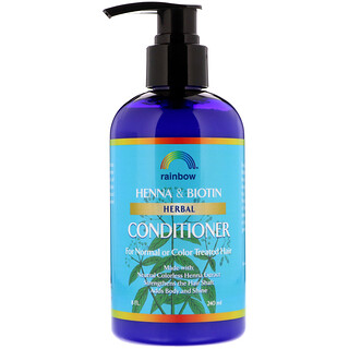 Rainbow Research, Henna & Biotin Herbal Conditioner, 8 fl oz (240 ml)