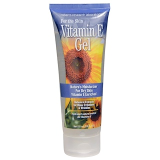 Robert Research Labs, Vitamin E Gel, 7.5 fl oz (221 ml)