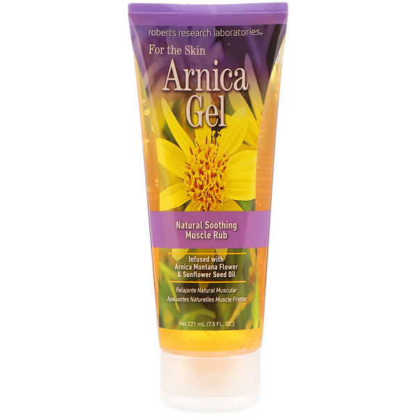 Robert Research Labs, Arnica Gel, 7.5 fl oz (221 ml)