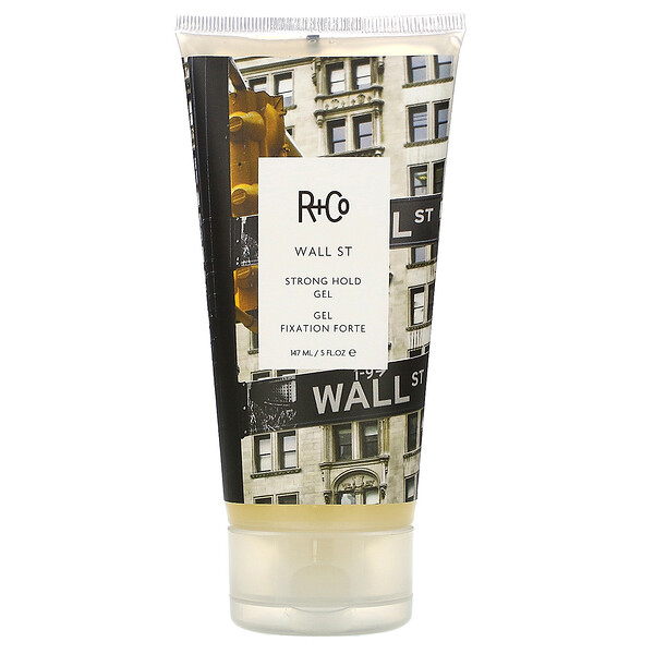 R+Co, Wall ST, Strong Hold Gel, 5 fl oz (147 ml) (Discontinued Item)