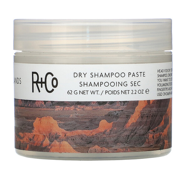 R+Co, Badlands, Dry Shampoo Paste, 2.2 oz (62 g)