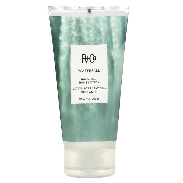 R+Co, Waterfall, Moisture + Shine Lotion, 5.0 fl oz (147 ml) (Discontinued Item)