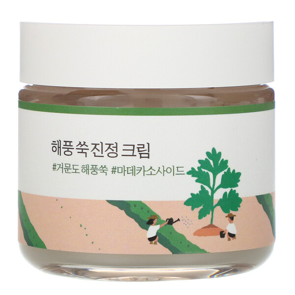Round Lab, Mugwort Calming Cream, 80 ml (Discontinued Item)