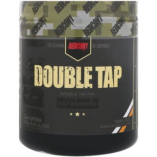 Redcon1, Double Tap, Fat Burner, Orange Crush, 6.23 oz (176.68 g)