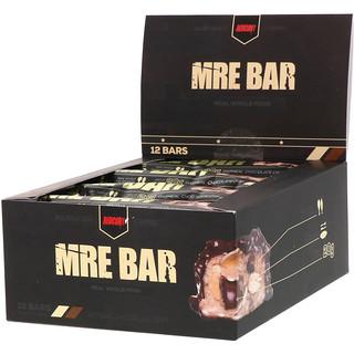 Redcon1, MRE Bar، رقائق الشكولاتة والشوفان، 12 قطعة، 2.36 أوقية (67 غرام) لكل قطعة