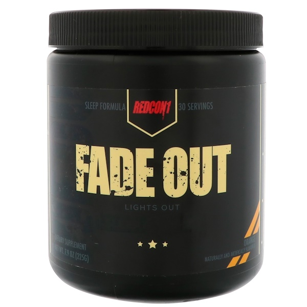 Redcon1, Fade Out, Orange, 7.9 oz (225 g) (Discontinued Item)