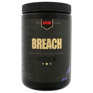 Redcon1, Breach, Aminos, Blue Lemonade, 12.16 oz (345 g)
