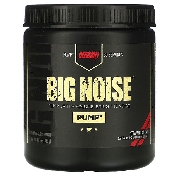 Big Noise, Strawberry Kiwi, 11.1 oz (315 g)
