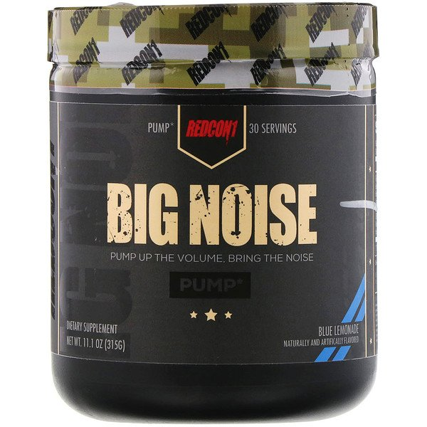 Big Noise, Pump, Blue Lemonade, 11.1 oz (315 g)