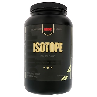 Redcon 1, Isotope, 100% Whey Isolate, Vanilla, 2.1 lbs (960 g)
