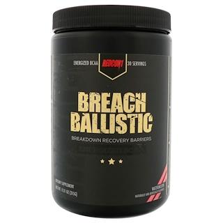 Redcon1, Breach Ballistic, Energized BCAA, Watermelon, 11.11 oz (315 g)