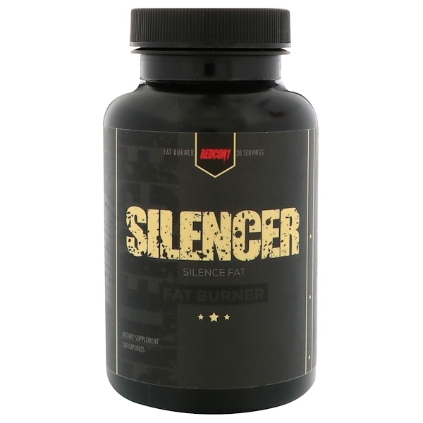 Redcon1, Silencer, 120 Capsules (Discontinued Item)