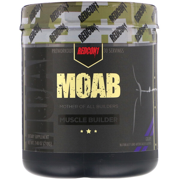MOAB, Muscle Builder, Grape, 7.40 oz (210 g)