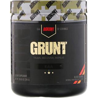 Redcon1, Grunt, EAA, Blood Orange, 10.05 oz (285 g)
