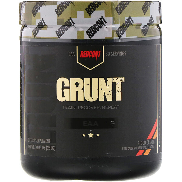 Redcon1, Grunt, Blood Orange, 10.05 oz (285 g)