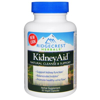 Купить Kidney Aid, 60 Vegan Capsules