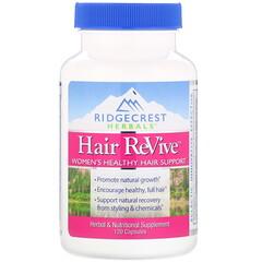 RidgeCrest Herbals, 頭髮修復,120 粒膠囊
