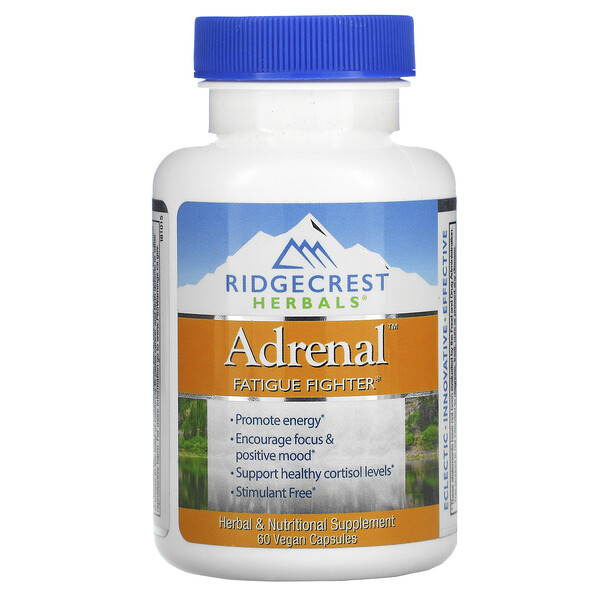 Adrenal, Fatigue Fighter, 60 Vegan Caps
