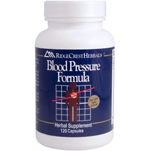 RidgeCrest Herbals, Blood Pressure Formula, 120 Capsules (Discontinued Item)
