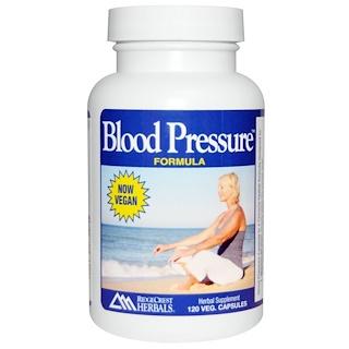 RidgeCrest Herbals, Blood Pressure Formula, 120 Veggie Caps