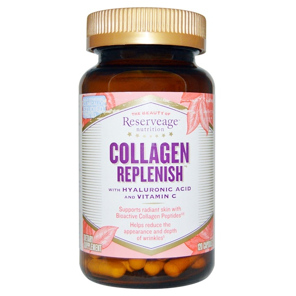 ReserveAge Nutrition, Collagen Replenish, 120 Capsules (Discontinued Item)