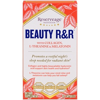 ReserveAge Nutrition, Beauty R&R, 60 Capsules