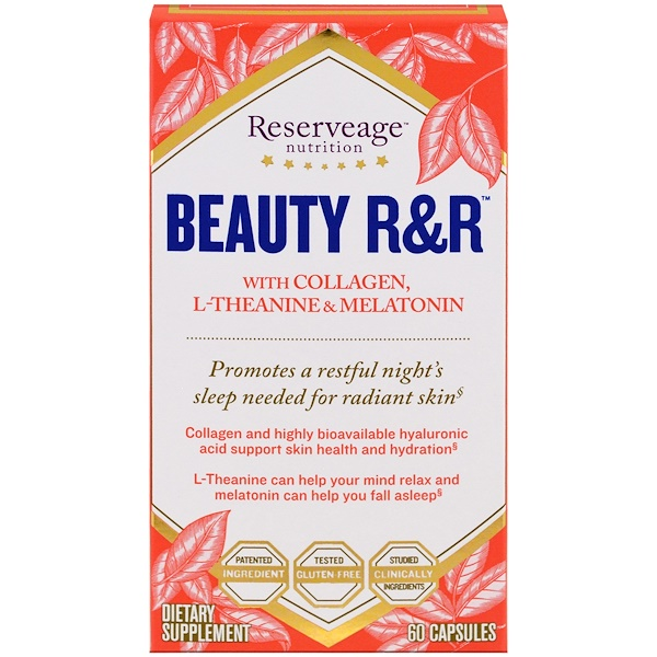 ReserveAge Nutrition, Beauty R&R, 60 Capsules (Discontinued Item)