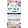 ReserveAge Nutrition, Resvératrol avec ptérostilbène et trans-resvératrol actif, 500 mg, 60 capsules végétales
