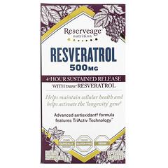 ReserveAge Nutrition, 白藜蘆醇素食膠囊,500 毫克,60 粒裝