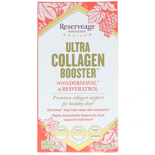 Ultra Collagen Booster、カプセル 90錠