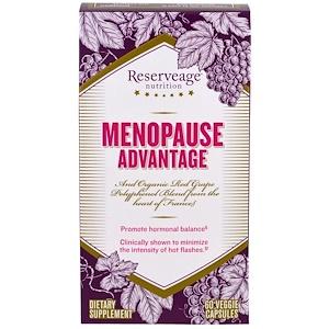 Резервеаге Нутритион, Menopause Advantage, 60 Veggie Capsules отзывы