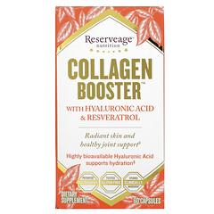 ReserveAge Nutrition, 膠原增生器,含透明質酸和白藜蘆醇,60 粒膠囊