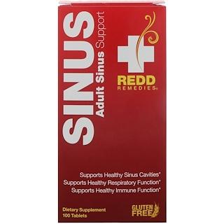 Redd Remedies, Sinus, Aporte Sinusal para adultos, 100 Tabletas