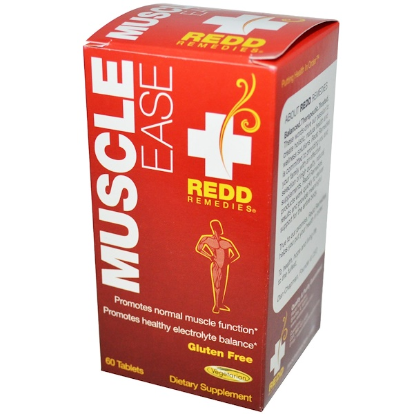 Redd Remedies, Muscle Ease, 60 Tablets (Discontinued Item)