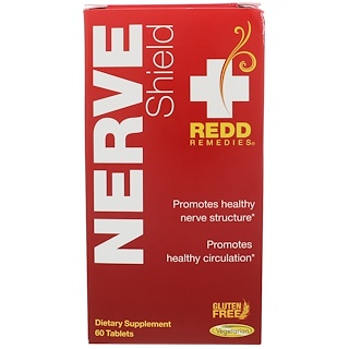 Redd Remedies, Nerve Shield , 60 Tablets