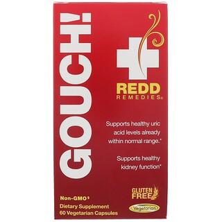 Redd Remedies, Gouch, 60 Vegetarian Capsules