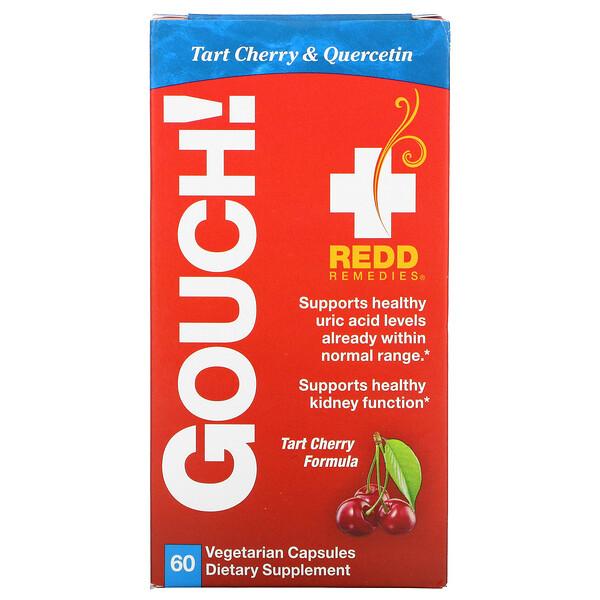 Gouch!, Tart Cherry Formula, 60 Vegetarian Capsules
