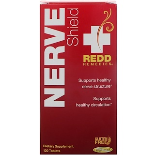 Redd Remedies, Nerve Shield, 120 Tablets