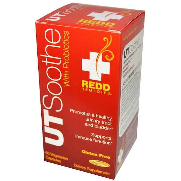 Redd Remedies, UTSoothe with Probiotics, 60 Veggie Caps (Discontinued Item)