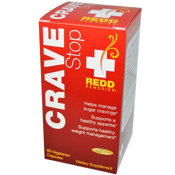 Redd Remedies, Crave Stop, 60 Veggie Caps (Discontinued Item)