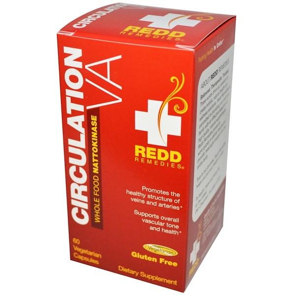 Redd Remedies, Circulation VA, 60 Veggie Caps (Discontinued Item)